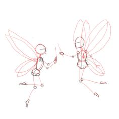 How to draw fairies | Drawing Factory