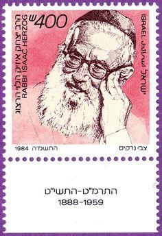 Yitzhak HaLevi Herzog Chief Rabbi of Ireland Israel Jewish Jews Judaica Judaism
