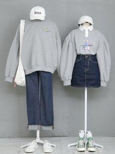Korea style I adore Kpop Outfits, Edgy Outfits, Korean Outfits, Cute Outfits, Fashion Outfits, Rock Outfits, Spring Outfits, Fashion Ideas, Womens Fashion