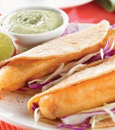 Tacos de pescado baja california