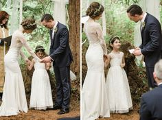 Tying the knot: family style
