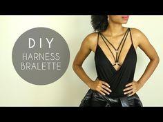 DIY Harness Bralette - YouTube
