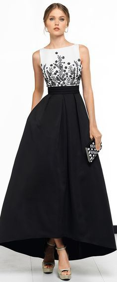 Exciting Satin Bateau Neckline Hi-lo A-line Evening Dress With Beaded Embroidery & Pockets