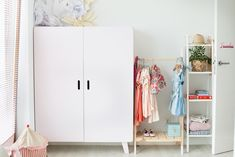 25 Pastel Nursery, Fantasy Bedroom, Kids Room Organization, Toddler Rooms, Kids Corner, Little Girl Rooms, Fashion Room, Kid Spaces, Kids Bedroom