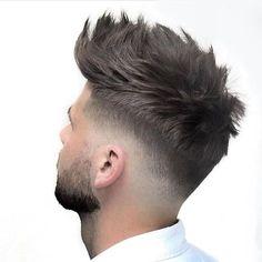 Stunning Haircuts for Men - Vincisjournal Mens Hairstyles Fade, Cool Hairstyles For Men, Hairstyles Haircuts, Haircuts For Men, Short Hair Cuts, Short Hair Styles, Gents Hair Style, Style Hair, Fade Haircut