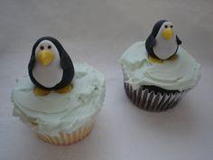 Cupcakes Take The Cake: Penguin cupcakes