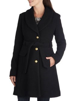 Early to Arrive Coat, #ModCloth