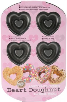Heart Donut Pan. I REALLY want this! :)