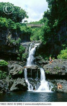 Seven Sacred Pools. On the way to Hana, Maui.. Must do this.