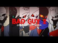 Bad Guy (2) Animation Meme [Bad Guys Sanses] Undertale AU •Flipaclip• - YouTube Undertale Fanart, Undertale Au, Animation, Weird, Fan Art, Guys, Youtube, Undertale Comic, Animation Movies