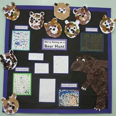 We're going on a Bear Hunt - classroom display and downloadable resources