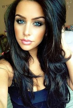 10 Beautiful Dark Hair Color shades.Ideas for dark brown hue to light hair for brunettes.