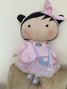 My dolls    Sweetheart doll  felt hair handmade #handmadedoll #handmadedolls #bebek  #hediye #elyapimibebek #bebek #sweetheart #tilda #elişi