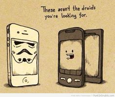 Looking for droids? These aren't them.
