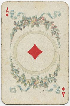 Old Playing Card Unique Playing Cards, Playing Cards Art, Vintage Playing Cards, Wildwood Tarot, Printable Playing Cards, Old Cards, Oracle Cards, Deck Of Cards, Letters And Numbers