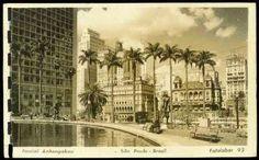 Resultado de imagem para antigos postais de São Paulo