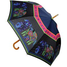 Laurel Burch Stick Umbrella Canopy Auto Open, 42-Inch, Dog and Doggies -- More info could be found at the image url.