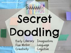Learn with Play at Home: Secret Doodling