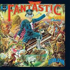 Image detail for -... Captain Fantastic CD Cover, Elton John Captain Fantastic Cover Art