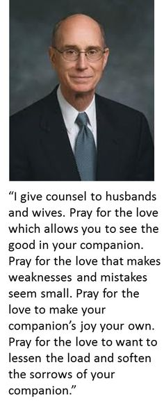 Inspired counsel to husbands and wives; choices to bless your marriage now and avoid there being any empty chairs in your family circle eternally. From #PresEyring's http://pinterest.com/pin/24066179228827489 inspiring #LDSconf http://facebook.com/223271487682878 message http://lds.org/general-conference/2009/10/our-perfect-example Learn more about how to strengthen your #marriage and #family http://facebook.com/189155347799517 #sharegoodness
