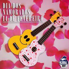 O Dia dos Namorados é já neste próximo domingo! Que tal oferecer um ukulele, ou outro instrumento musical? Venha ao Salão Musical de Lisboa. Estamos abertos no sábado. www.salaomusical.com