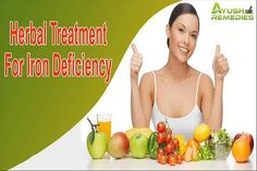 You can find more details about the herbal treatment for iron deficiency at http://www.ayushremedies.com/natural-iron-supplements.htm Dear friend, in this video we are going to discuss about the herbal treatment for iron deficiency. Feroplex capsule is the best herbal treatment for iron deficiency problem.