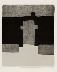 Eduardo Chillida Fresh artist on abstract & contemporary art // Featured by curator of gallery TACT Illustrations, Illustration Art, Modern Art, Contemporary Art, Picasso Paintings, Monochrom, Magazine Art, White Art, Textile Art