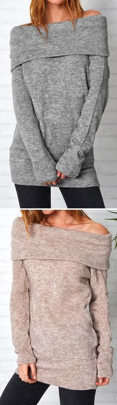 This Wrapped In Excellence Lapel Sweater will keep ya cute with its extra cozy material and perfectly relaxed fit. Casual Outfits, Cute Outfits, Fashion Outfits, Womens Fashion, Fall Winter Outfits, Autumn Winter Fashion, Facon, Dress To Impress, What To Wear