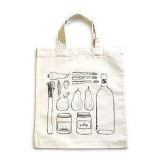 Canvas tasje voor keukengerei? Erg leuk... Maar wat voor illustratie past bij Always w/? #alwayswith #inspiration