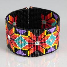 Native American Style Boho perle à tisser Bracelet Bijoux artisanaux sud-ouest d