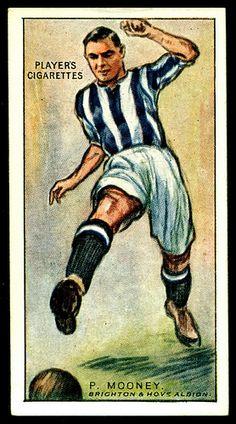 Cigarette Card - Brighton Footballer, Paul Mooney by cigcardpix, via Flickr