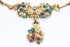 Vintage Wedding Jewelry, Bridal Jewelry, Beaded Jewelry, Unique Jewelry, Crystal Necklace, Crystal Rhinestone, Jewelry Companies, Photo Jewelry, Necklace Lengths