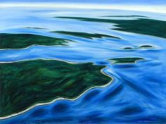 Eric Hopkins A native Maine-island painter, Eric Hopkins was born on North Haven and traveled and studied widely in the United States before returning to live in his home town. He works primarily in watercolor, and with a love of flying, does aerial views of island landscapes.  http://www.askart.com/askart/h/eric_hopkins/eric_hopkins.aspx