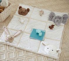 Animal Plush Playmat | Pottery Barn Kids