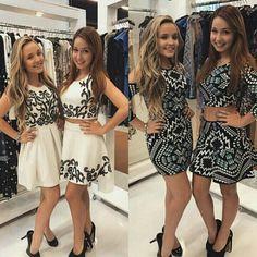Esse foram os Looks que eu achei mais bonitos! Larissa Manoela e Mharessa Fernandes