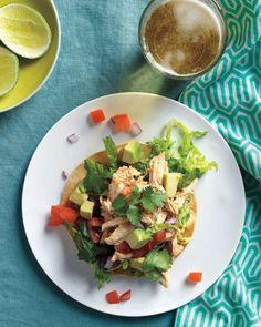 Chicken Tostada Salad Recipe