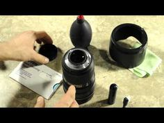 Great tutorial on how to clean SLR camera lenses!
