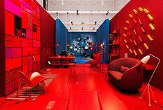 Danish Chromatism by Signe Byrdal Terenziani and GamFratesi during Milan Design Week 2013   Yellowtrace.