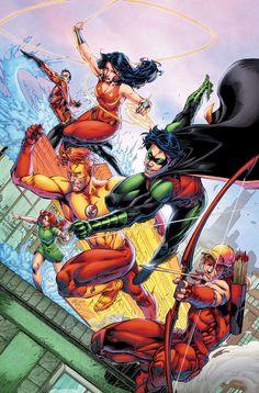 Dan Abnett & Brett Booth Talk Wally West and Bringing Back the Original Titans - Comic Vine