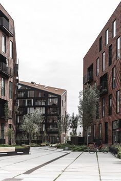 COBE and Vilhelm Lauritzen Architects complete warehouse-like housing