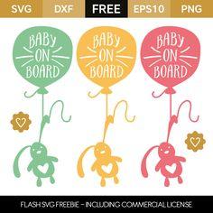 Baby on Board - Flash Freebie Cricut Fonts, Cricut Vinyl, Svg Files For Cricut, Vinyl Decals, Baby Silhouette, Silhouette Portrait, Silhouette Cameo, Vinyl Crafts, Vinyl Projects