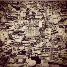 São Paulo from the air (circa 1933)