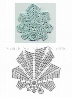 crochet leaf - potential doily?