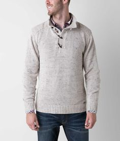 J.B. Holt Cambridge Lincoln Henley Sweater - Men's Sweaters | Buckle. Hubby