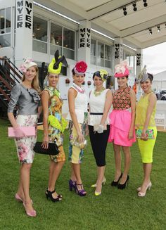 2012 Melbourne Cup Carnival: Myer Fashions On The Field Enclosure Launch #ishoes #melbournecupfashion