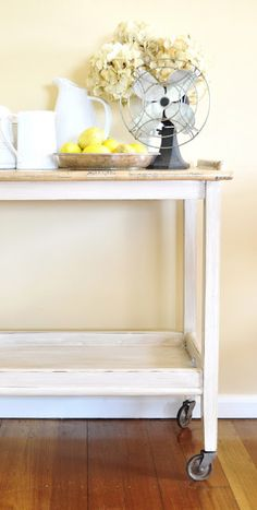 Remodelaholic | Tea Trolley Revamp by The Painted Hive