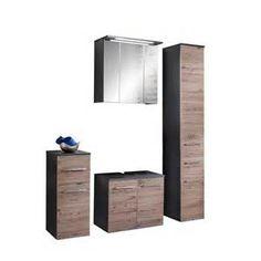 Superb Suche Badezimmer komplettset eiche bordeaux anthrazit agnes Ansichten