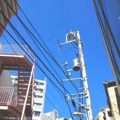 Blue sky after the typhoon!