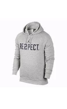 8e6aa6fc778029 Nike Air Jordan RE2PECT Derek Jeter Yankees Hoodie Gray 828553 063 Mens Sz  Med  Nike
