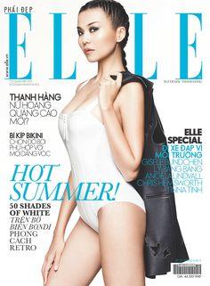 Thanh Hằng- Elle magazine cover [Vitnam] (June 2013)
